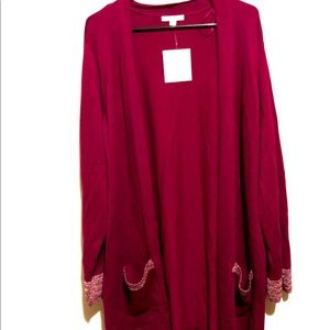 NEW 89th Madison Womens Top Size 2x